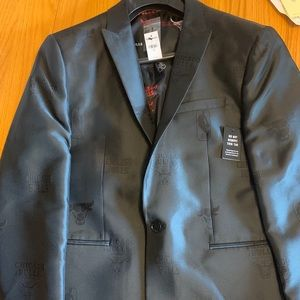 Express Chicago Bulls NBA Suit Jacket - New 42R